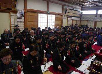 東日本大震災一周忌慰霊並びに復興祈願法要