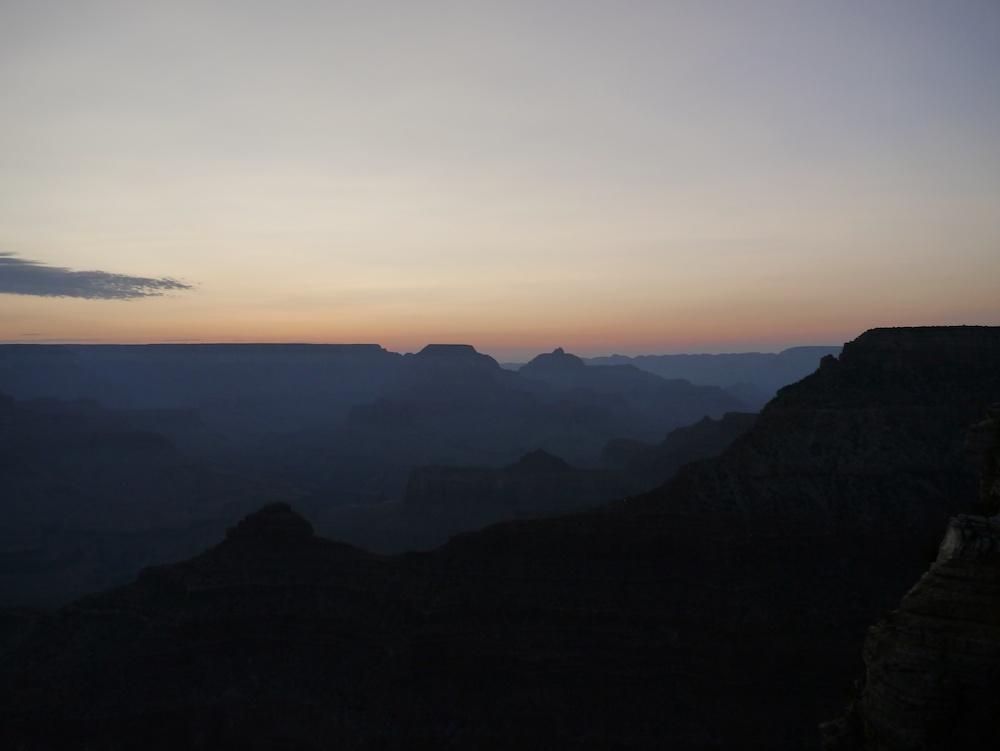 夜明けのグランドキャニオン